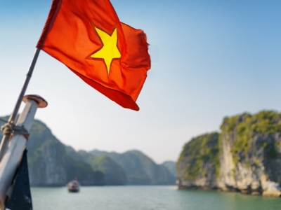 The-flag-of-Vietnam-